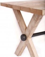 Mesa de comedor Jaspar detalle-bola