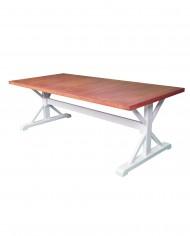 Mesa de comedor Crempo lateral