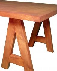 mesa de comedor borrel detalle pata