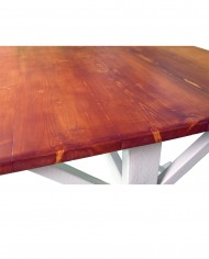 Mesa de comedor cremca detalle 2